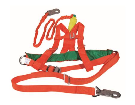 double sided Safety belt for lineman